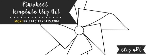Pinwheel Template Clipart