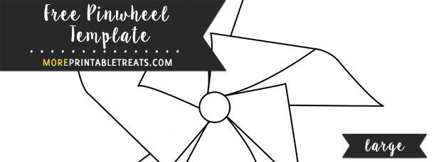 Pinwheel Template Large