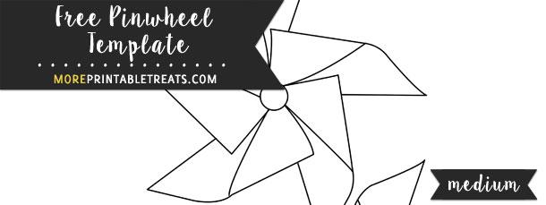 Pinwheel Template | Pinwheel Template Medium