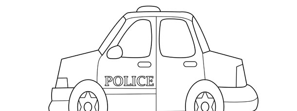 police car template  pin by linda nunn on quiet books