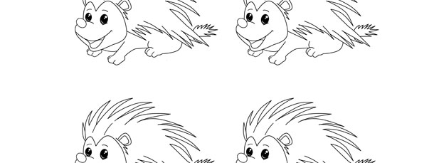 porcupine template small