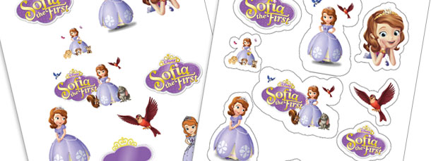 Print Your Own Sofia the First Stickers