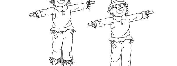 Scarecrow Template Medium