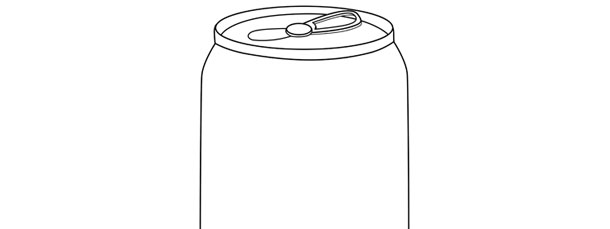 soda can template large