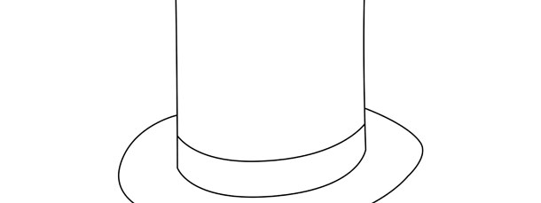 stovepipe hat template large