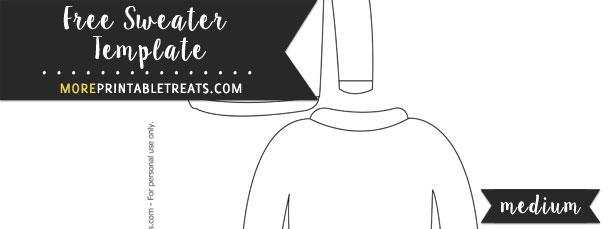 Sweater Template – Medium