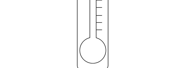Thermometer Template  Large