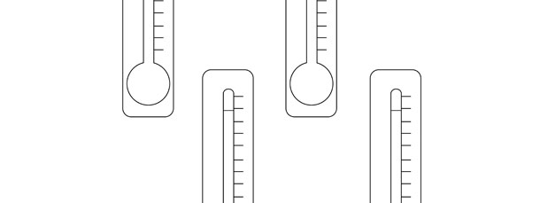 Thermometer Template  Small