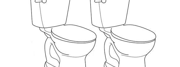 toilet template medium
