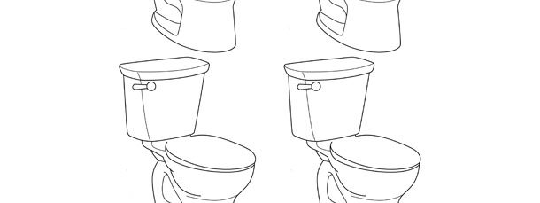 toilet template small