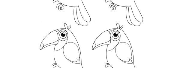 Toucan Template – Small