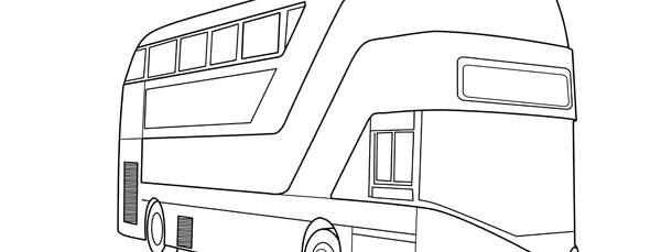 tour bus template large