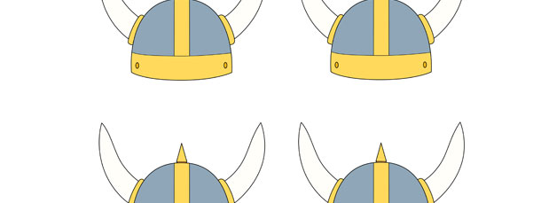 Viking Helmet Cut Out – Small