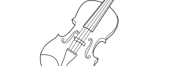 Violin Template – Large