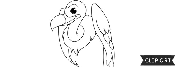 Vulture Template – Clipart