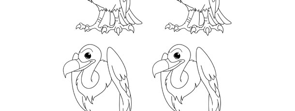 Vulture Template – Small