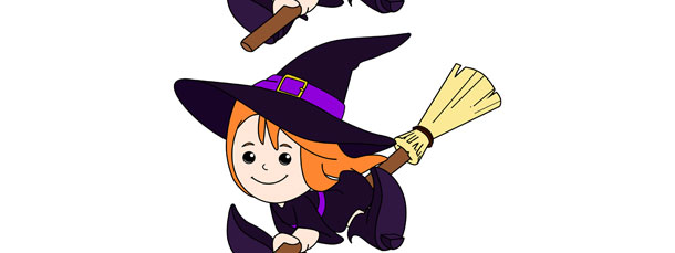 Witch Cut Out Medium