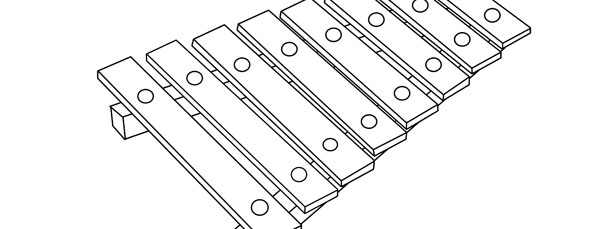 Line Drawing Of Xylophone : Xylophone template large