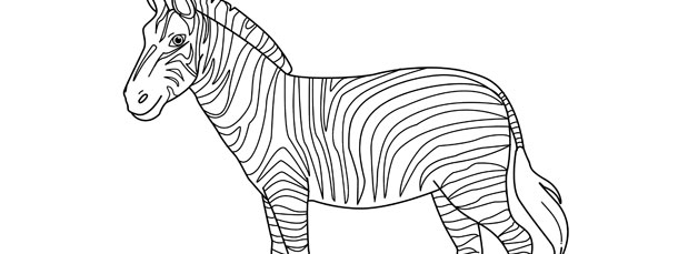 Zebra template large pronofoot35fo Gallery