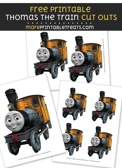 Free Bash from Thomas and Friends Cut Outs - Printable - Thomas the Train