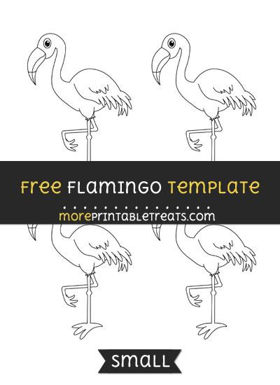 Flamingo template small free flamingo template small pronofoot35fo Images