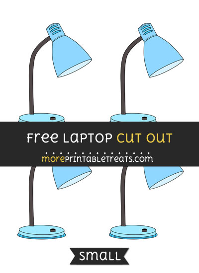 Free Lamp Cut Out - Small Size Printable