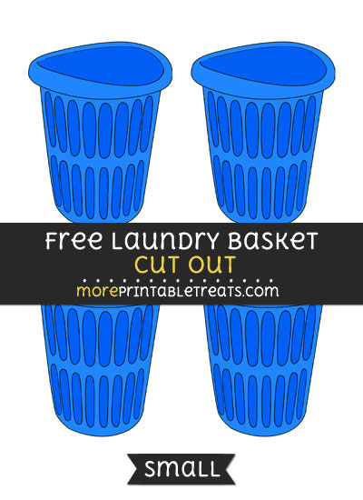 Free Laundry Basket Cut Out - Small Size Printable