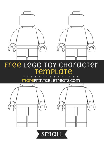 Free Lego Toy Character Template