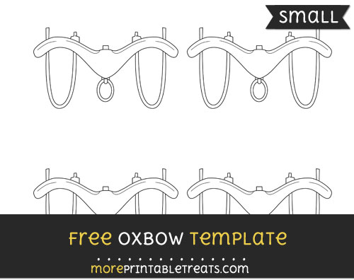 Free Oxbow Template - Small