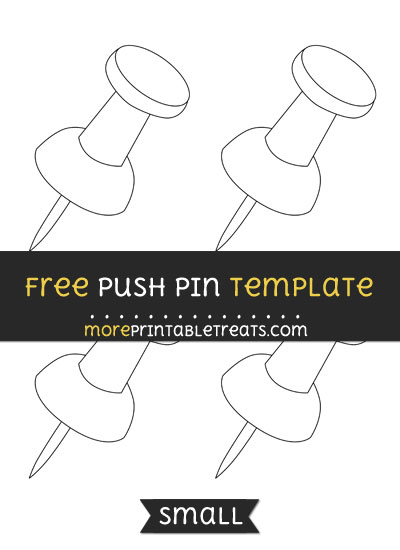 Push Pin Template – Small