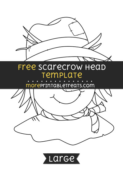 photo regarding Scarecrow Template Printable titled Scarecrow Thoughts Template Higher