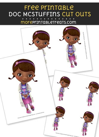 Free Shy Doc McStuffins Cut Outs - Printable - Doc McStuffins