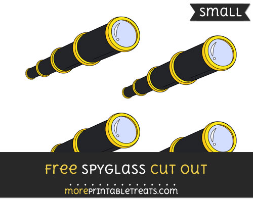 Free Spyglass Cut Out - Small Size Printable