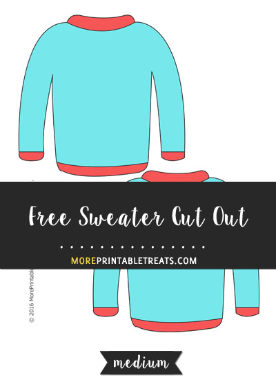 Free Sweater Cut Out - Medium