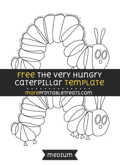 very hungry caterpillar templates free - the very hungry caterpillar template medium