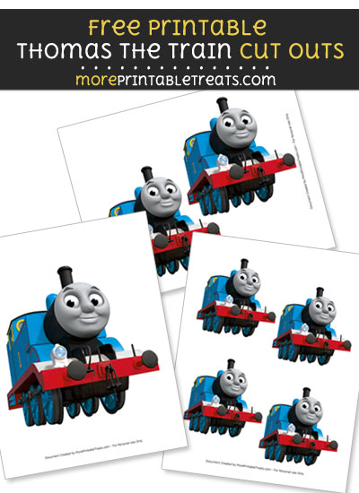 Free Thomas the Train Cut Outs - Printable - Thomas the Train and Friends