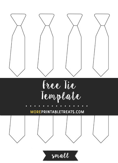 tie template small