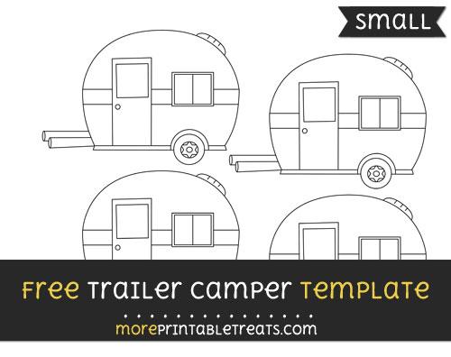 trailer camper template small