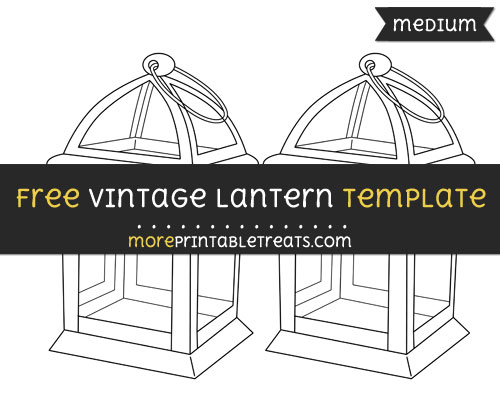 graphic about Lantern Template Printable titled Common Lantern Template Medium