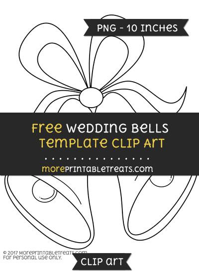 Free Wedding Bells Template