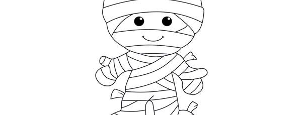 Mummy Template - Large