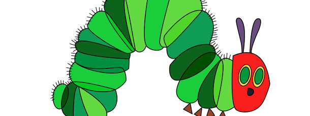 The Very Hungry Caterpillar Cut Out Large