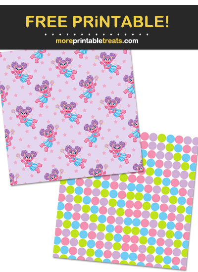 Free Printable Abby Cadabby Wrapping Paper