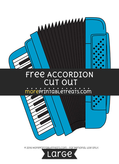 Free Accordion Cut Out - Large