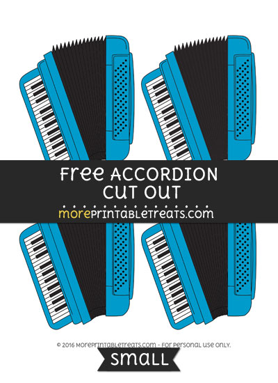 Free Accordion Cut Out -Small