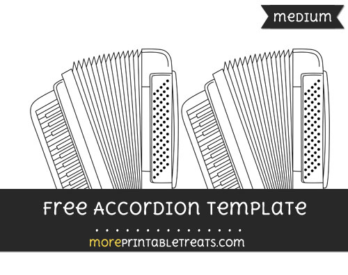 Free Accordion Template - Medium