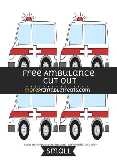 Free Ambulance Cut Out -Small