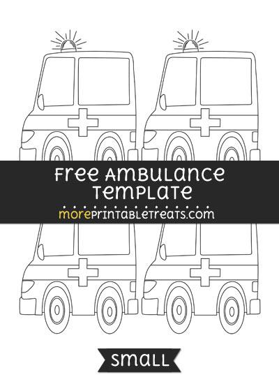 Free Ambulance Template - Small
