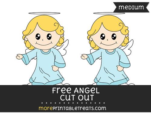 Free Angel Cut Out - Medium