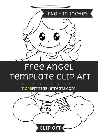 Free Angel Template - Clipart